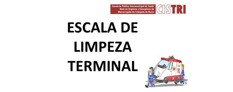 Escala Limpeza Terminal
