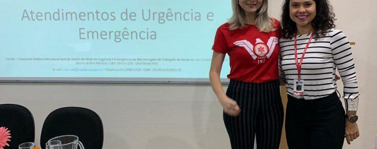 SAMU/CISTRI REALIZA PALESTRAS EM COMEMORAÇÃO A SEMANA DE  ENFERMAGEM