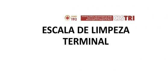 Escala Limpeza Terminal – Setembro