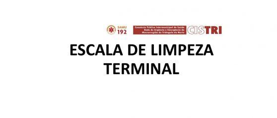Escala Limpeza Terminal – Julho