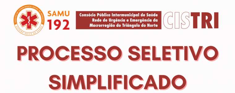 PROCESSO SELETIVO – EDITAL 001/2021